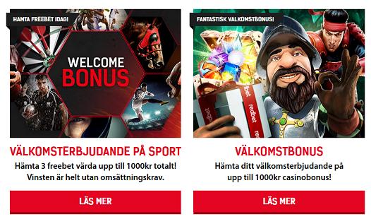 Vinn din andel av 15 000 € i poker hos online casino Redbet!