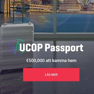 Vinn din andel av hela 500 000 € i UCOP PASSPORT på Guts!