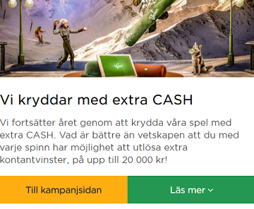 Vinn 20 000 kr kontant på Mr Green!