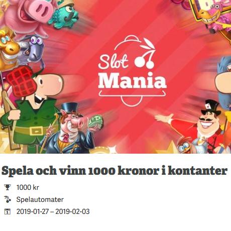 Delta i Slot Mania och vinn din andel av 10 000 kr hos Paf!