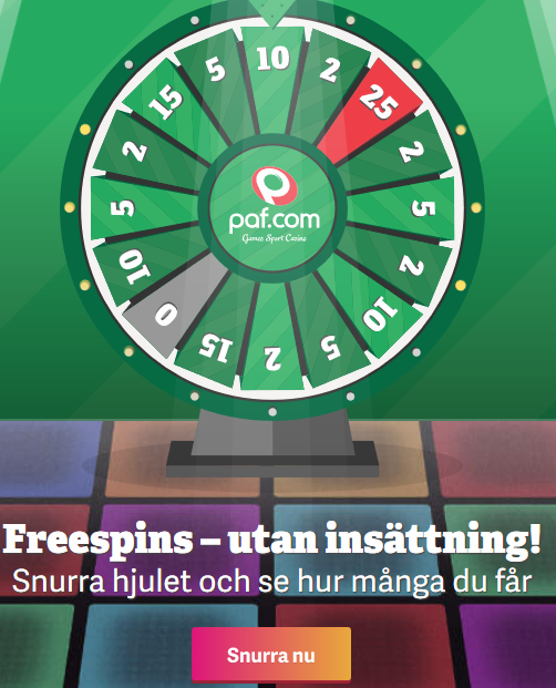 Registrera dig på Paf och få 50 gratishänder i Blackjack!
