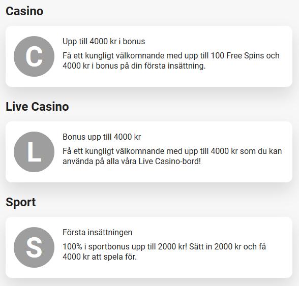 Öppna konto först hos LeoVegas för att sen hämta dina 2 gratisspel, 50 kr!