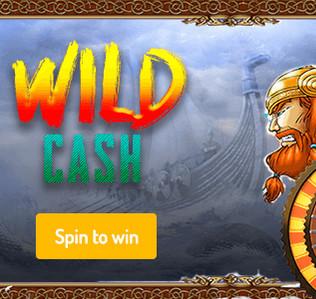 Vinn din andel av 120 000 € i Wild Cash-tävlingen på Agent Spinner!