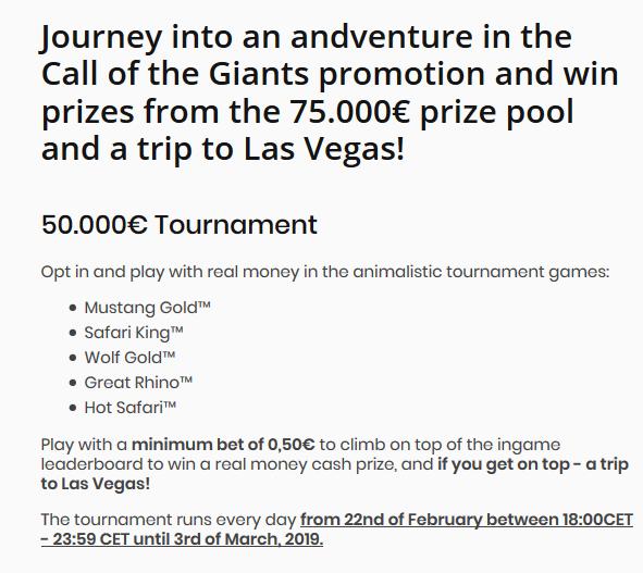 Klicka här och tävla om 75 000 € + resa till Las Vegas på Agent Spinner!
