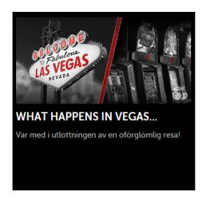 Vinn drömresan till Las Vegas på Betsafe nu!