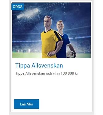 Träffa 13 rätt och vinn 100 000 kr på NordicBet!