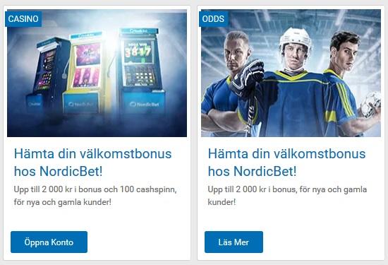 Gå med NordicBet och tävla om 100 000 kr!