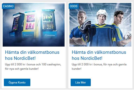 Bli medlem på NordicBet och börja delta i lottdragningarna idag!