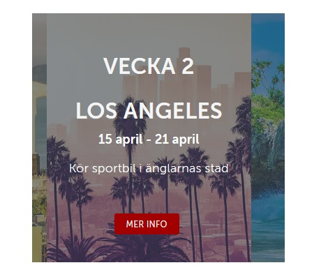 Vinn resa till Los Angeles på Betsafe!