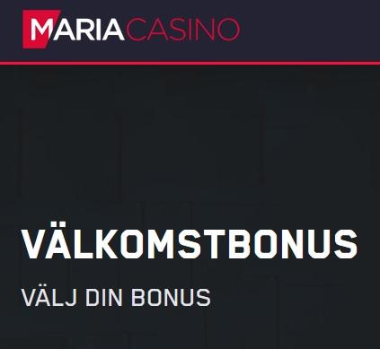 Delta i dagliga 50 000 kronors turneringar på Maria Casino denna månad!