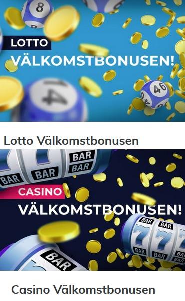 Hämta din casino bonus på Multilotto nu - klicka här!