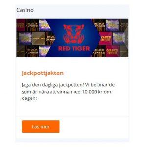 Vinn 100 000 kr i jackpottjakten hos Betsson!