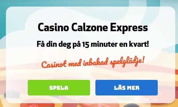 Börja spela på Casino Calzone så kan du vinna 500 kr varje dag!