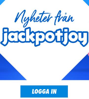 Registrera dig på Jackpotjoy och vinn kanske 250 kr!