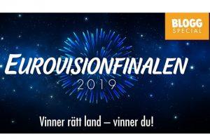 Vinn 250 kr om du gissar rätt hos Jackpotjoy under Eurovisionfinalen!