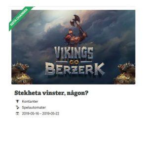 Vinn del av 10 000 kr på Vikings Go Berzerk hos Paf!