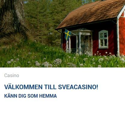 Gå med på SveaCasino nu och tävla om skattkistorna!