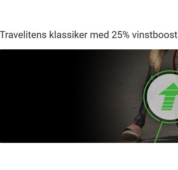 25 % vinstboost i traveliten hos Unibet!