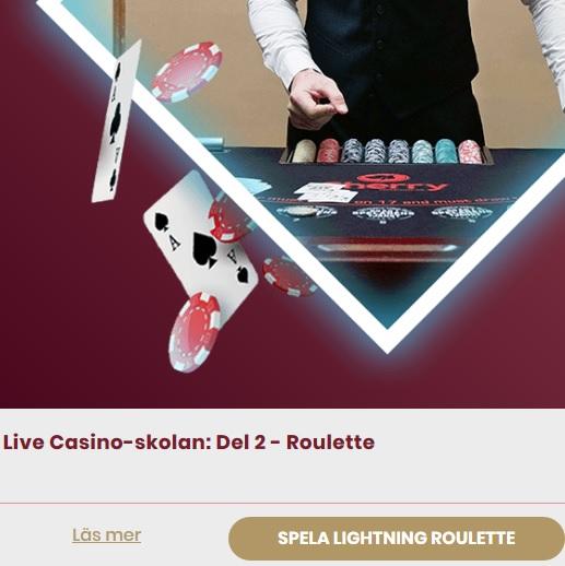 Lär dig spela Live Roulette på CherryCasino!
