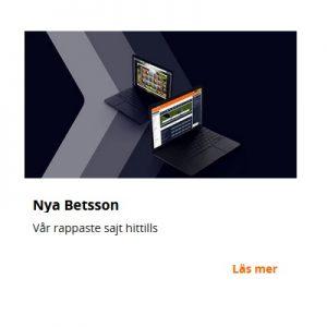 Spela hos nya uppiffade nätcasino Betsson!