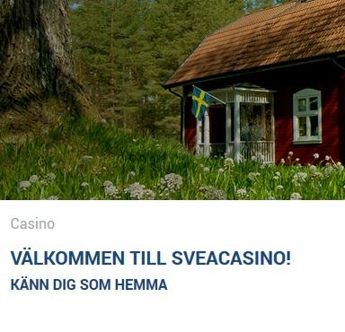 Spela Veckans Spel nu hos Svea Casino!