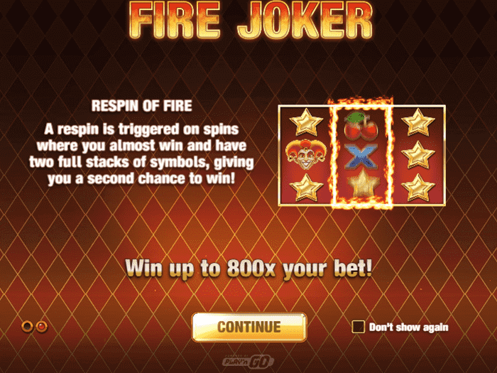 Fire Joker iframe
