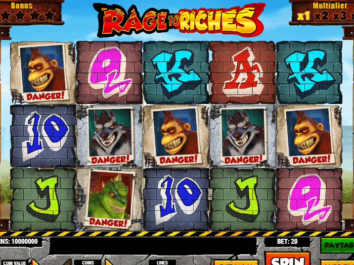Rage to Riches iframe