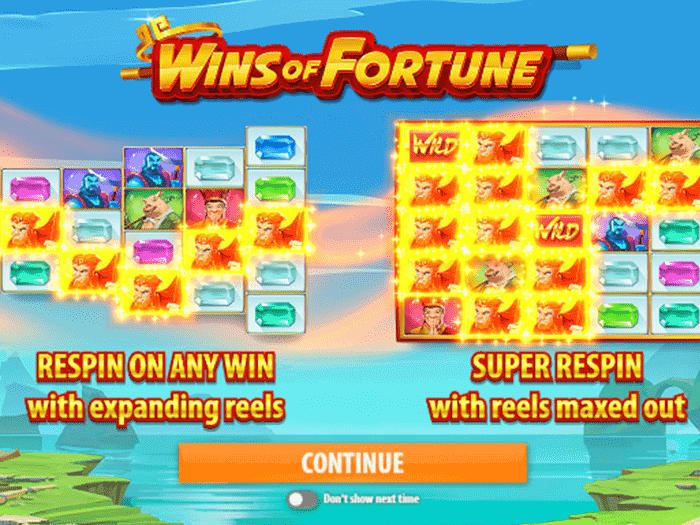 Wins of Fortune iframe