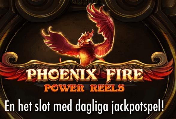 Phoenix Fire Power Reels finns nu på Jackpotjoy!