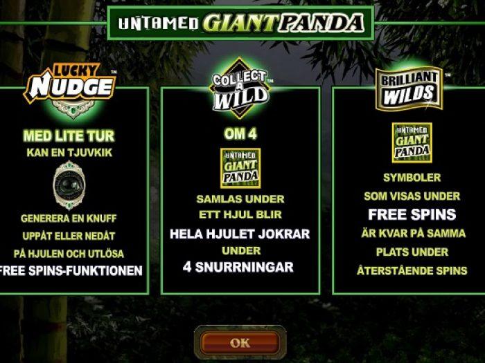 Untamed Giant Panda iframe