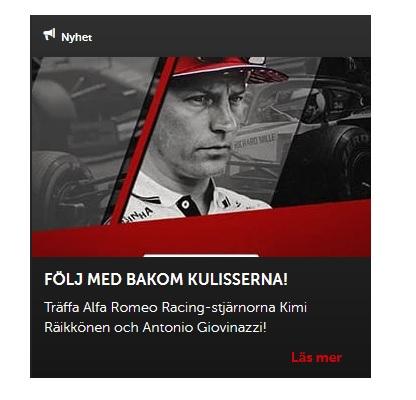 Lär dig mer om Alfa Romeo-förare på Betsafe!