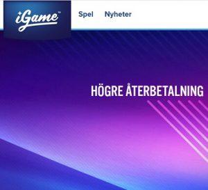 10 slots på iGame Casino med högre RTP än vanligt!