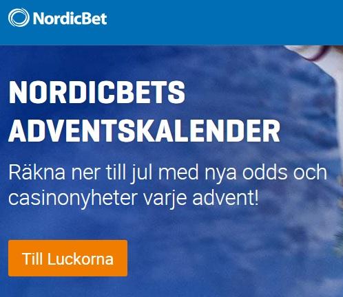 NordicBet och deras Adventskalender 2019!