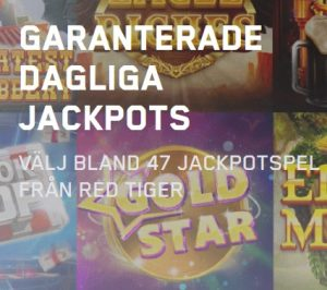 47 garanterade Dagliga Jackpots hos Maria Casino!