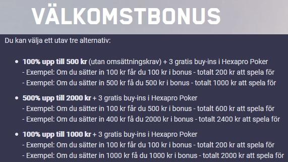 Spela på 47 olika dagliga jackpots på Maria Casino nu!