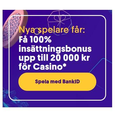 Hämta 20 000 kr bonus hos Casumo nu!