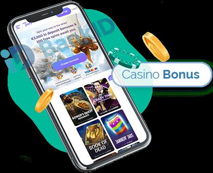 Casino bonus med BankID