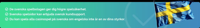 Svenska nätcasinon