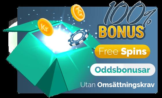Bonusar på nya casino sidor