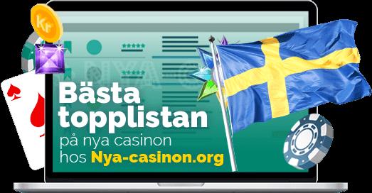 Nya casinon 2021 på Nya-casinon.org