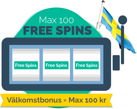 Max 100 Free spins