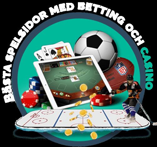 Spelsidor med casino och betting